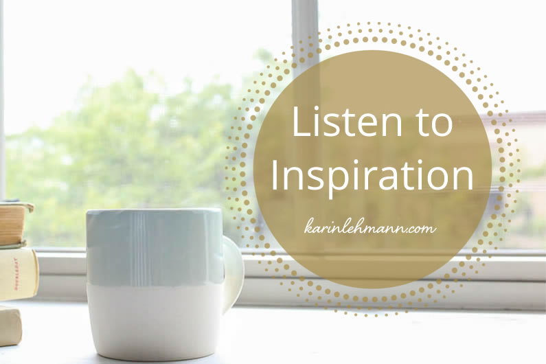 Want to Find Your True Voice? Listen to Inspiration.