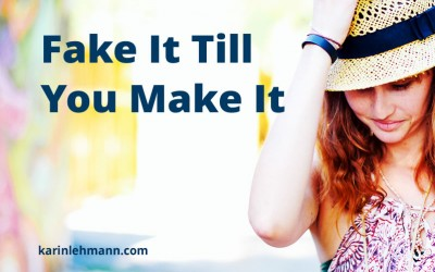 Fake it Till You Make It: Self Coaching in Action
